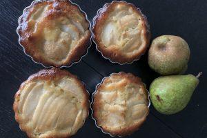 Pear-Almond Tartelettes